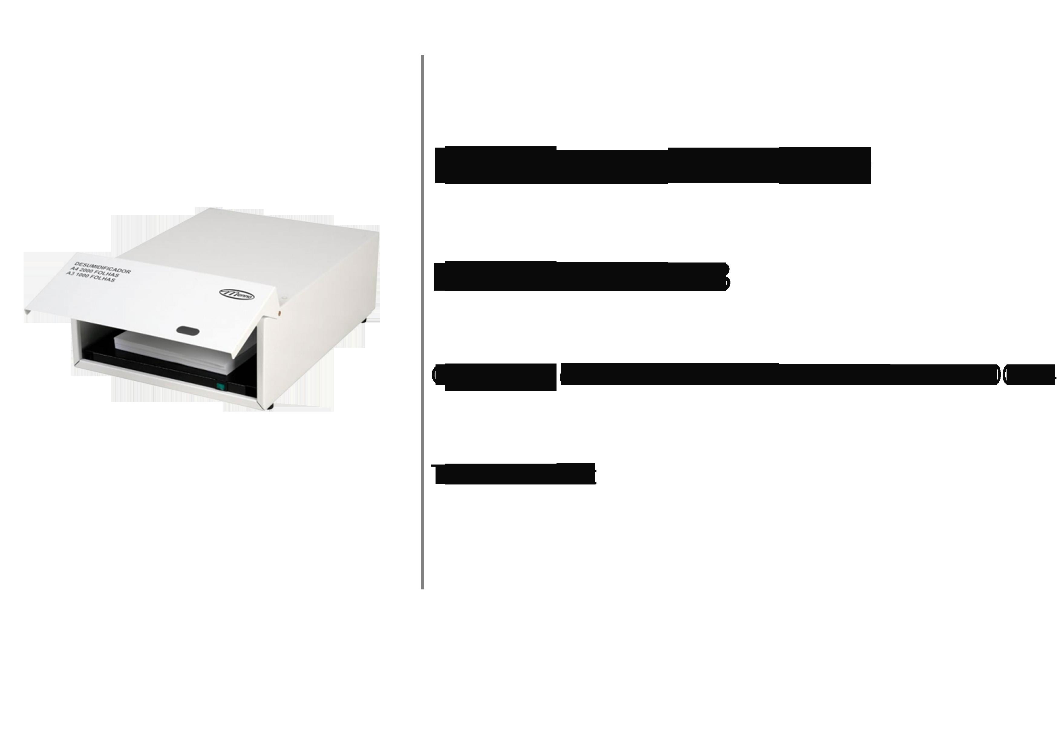 Finish Solution desumidificador 1000 A3
