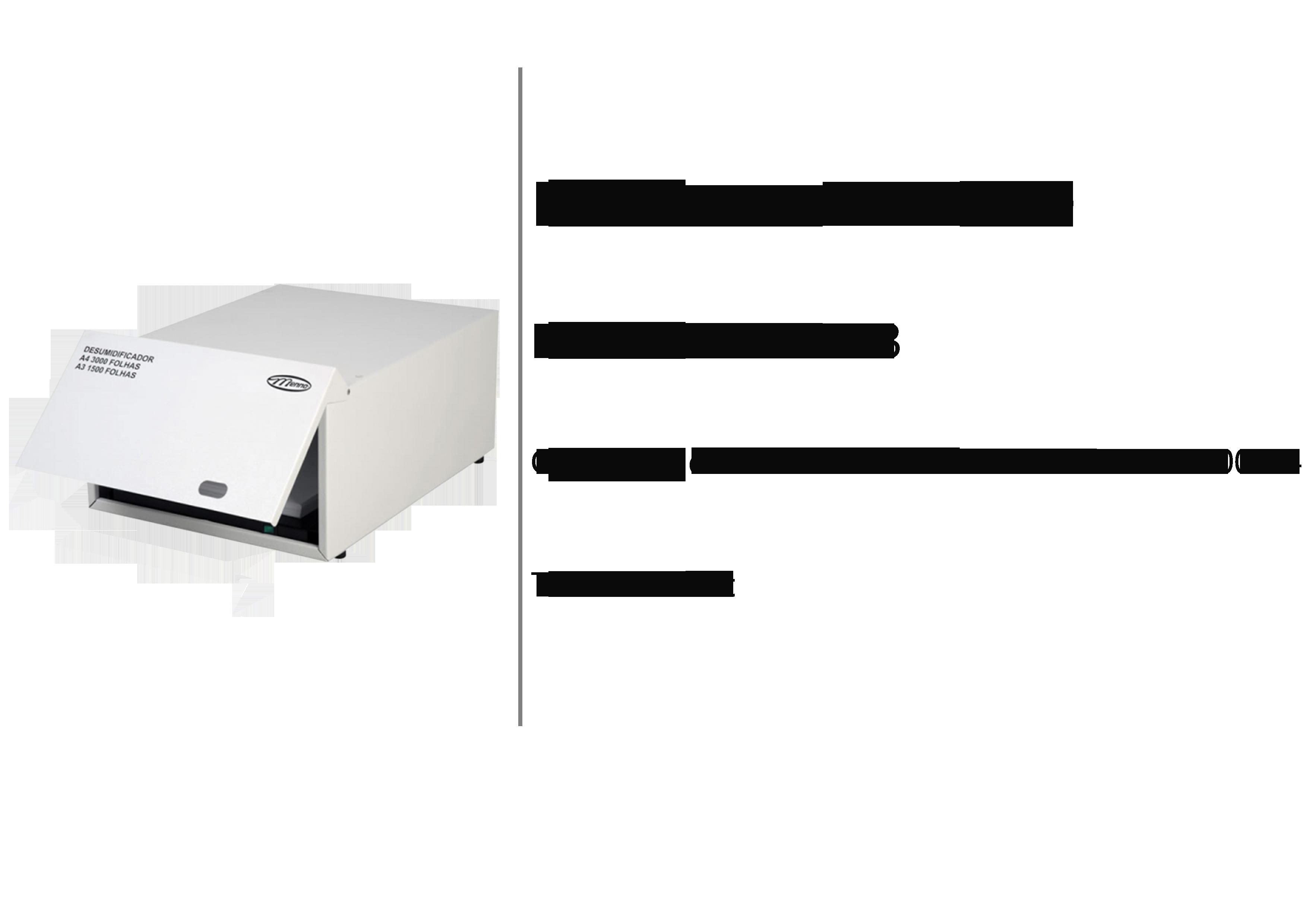 Finish Solution desumidificador 1500 a3