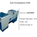 Auto Envelopadora E30K docfinish