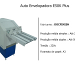 Auto Envelopadora E50K